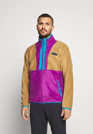 BACK BOWL FULL ZIP  - Fleece jacket - delta/plum