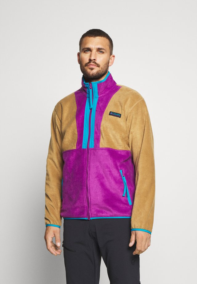 BACK BOWL FULL ZIP  - Fleecejacke - delta/plum