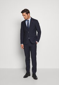 Tommy Hilfiger Tailored - WINDOWPANE SLIM FIT SUIT - Oblek - blue - 1