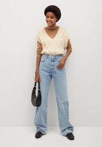 Mango - URBAN - Straight leg jeans - mittelblau - 1