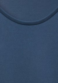 Street One - IM SEIDEN LOOK - Basic T-shirt - blau - 4