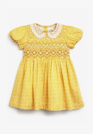 Denní šaty - ochre