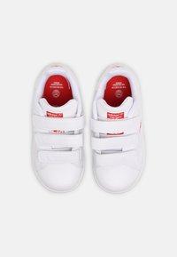 adidas Originals - STAN SMITH UNISEX - Baskets basses - white/vivid red - 3