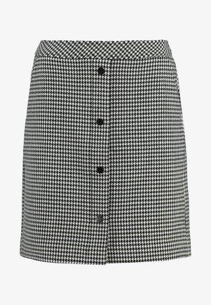 KURZ - Mini skirt - houndstooth blazer