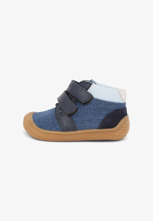 TRISTAN  - Korkeavartiset tennarit - denim
