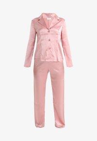 La Perla - LONG PAJAMAS SHORT VERSION SET - Pyjama set - pink powder - 4