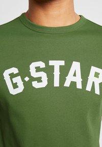 G-Star - GRAPHIC 16 R T S/S - Camiseta estampada - kelly green - 5