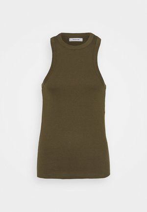 CLEAR TANK - Top - army