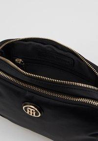 Tommy Hilfiger - POPPY CROSSOVER - Across body bag - black - 4