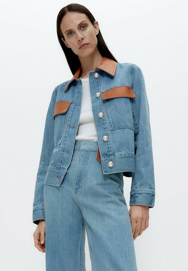 Uterqüe - Denim jacket - blue