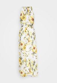 Wallis - GLORAL PLEATED DRESS - Maxi dress - ivory - 1