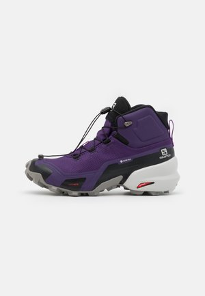 CROSS HIKE MID GTX  - Hiking shoes - grape/frost gray/royal lilac