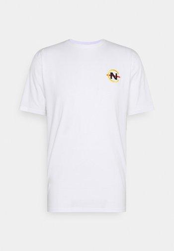 BOSUN - Print T-shirt - white