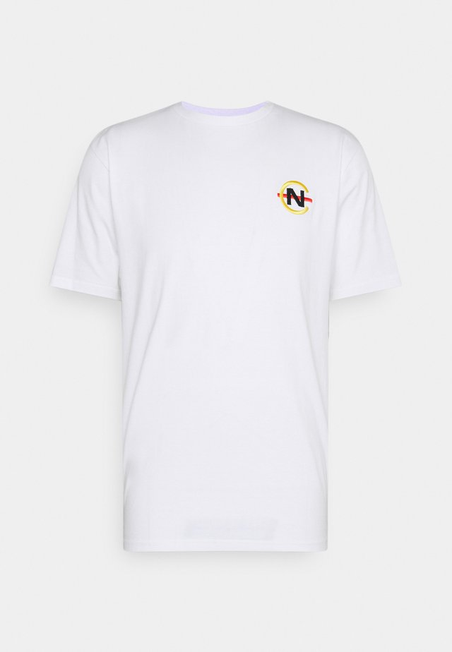 BOSUN - T-shirts med print - white