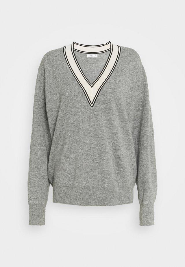 CAMIE - Sweter - gris
