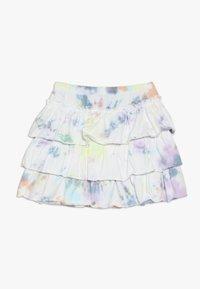 Molo - BELL - Áčková sukně - white/multi-coloured - 1