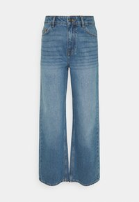 Noisy May Tall - NMAMANDA ANKLE - Straight leg jeans - medium blue denim - 0