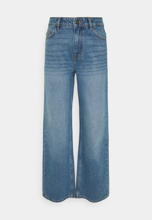 NMAMANDA ANKLE - Straight leg jeans - medium blue denim