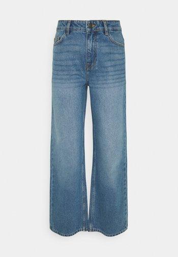 NMAMANDA ANKLE - Jeans straight leg - medium blue denim