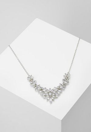 ONLSHARKY NECKLACE - Necklace - silver-coloured/clear