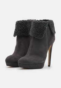 Even&Odd - LEATHER - Winter boots - grey - 2