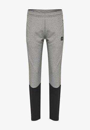 TAPERED - Træningsbukser - grey melange