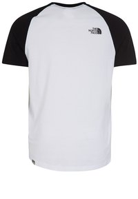 The North Face - EASY - T-shirt imprimé - white/black - 1