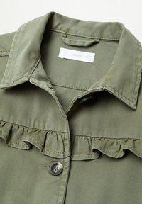 Mango - EDGE8 - Denim jacket - khaki - 2