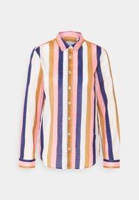 Emily van den Bergh - Button-down blouse - brown/rose/blue - 5