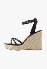 New Look - PEDGER - Sandalias de tacón - black - 1