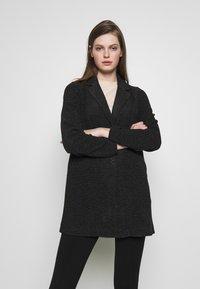 Vero Moda - Halflange jas - dark grey melange - 0
