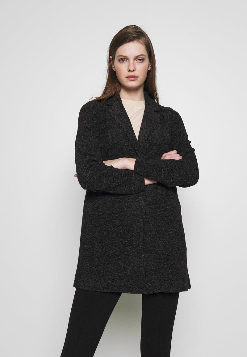 Vero Moda - Halflange jas - dark grey melange