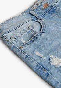 Next - Denim shorts - mottled blue - 2