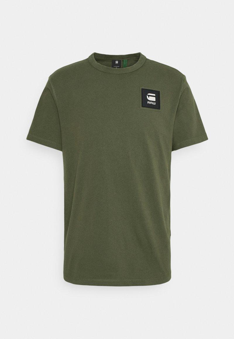 G-Star - BADGE LOGO - T-shirt con stampa - combat