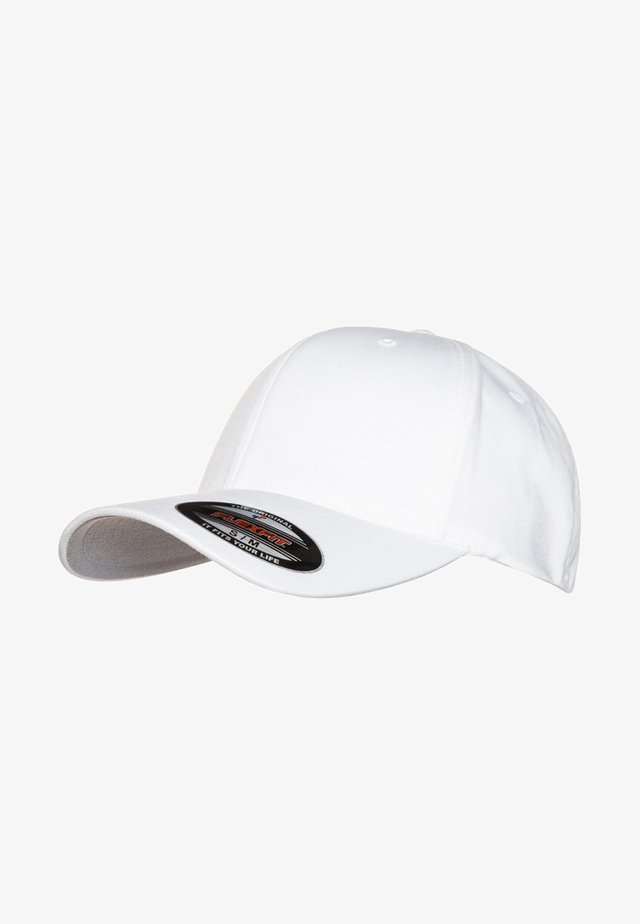 COMBED - Cap - white