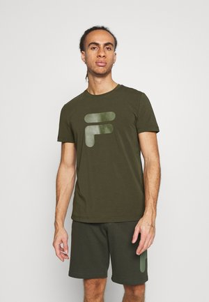 ROBIN - T-shirt con stampa - forest night