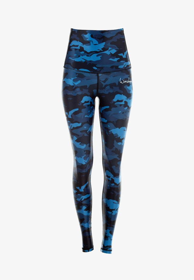 Legging - camo blue