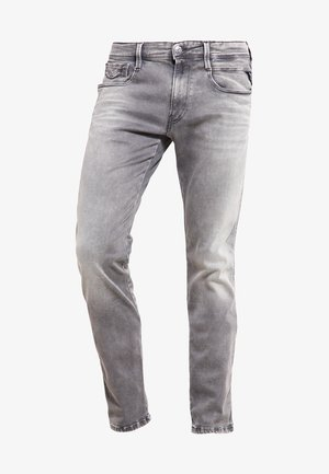 HYPERFLEX ANBASS - Vaqueros slim fit - grey denim