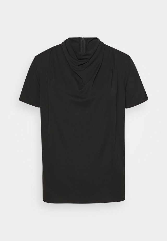 VOLONA - T-shirt - bas - black