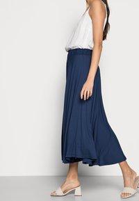 Esprit - SKIRT - A-line skirt - dark blue - 3