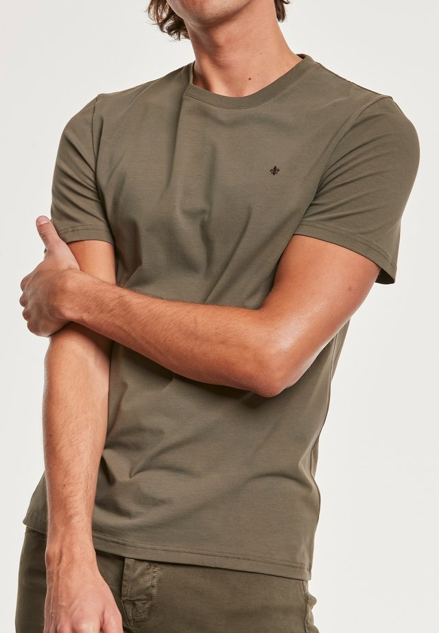 T-shirt - bas - olive