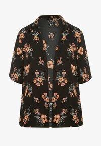 Yours Clothing - Summer jacket - black - 3