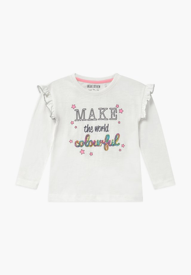 KIDS RAINBOW - Long sleeved top - offwhite