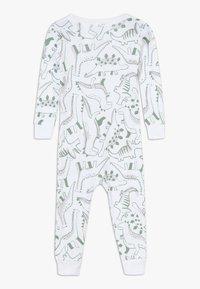 Carter's - ZGREEN BABY - Overal - white/khaki - 1