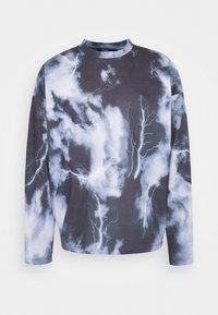 Jaded London - LIGHTNING CLOUD  - T-shirt à manches longues - dark grey - 0