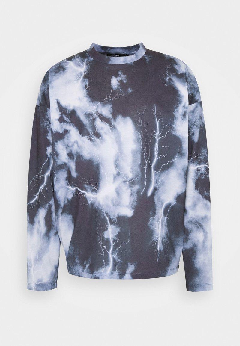 Jaded London - LIGHTNING CLOUD  - T-shirt à manches longues - dark grey