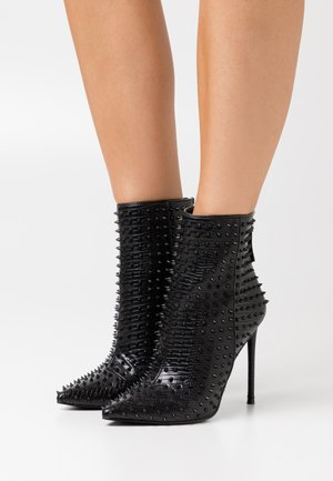 VIA - High heeled ankle boots - black