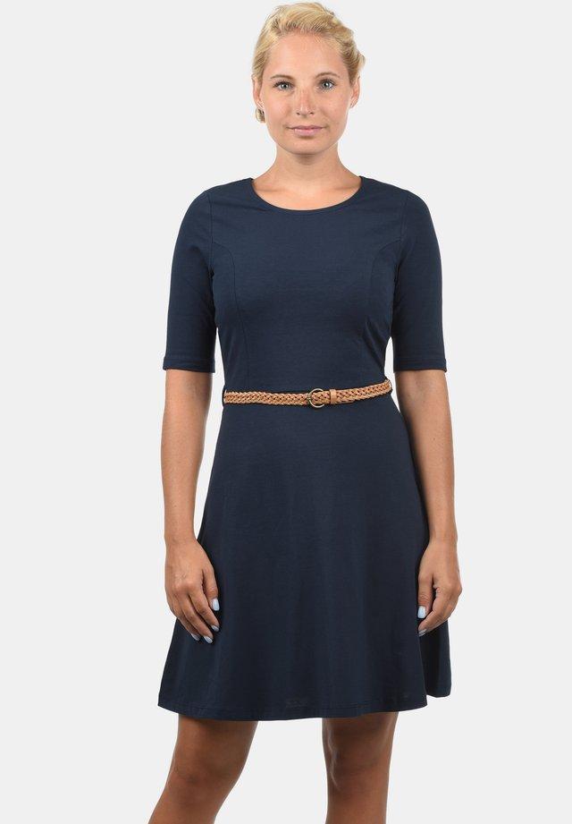 SCARLET - Jersey dress - navy