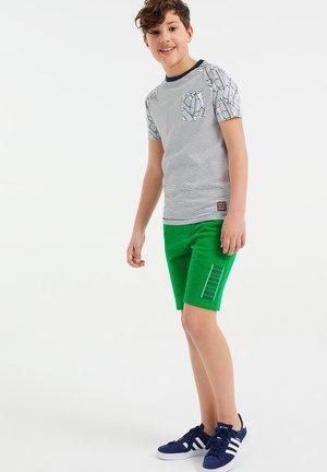 2 PACK - Shorts - green/ dark blue