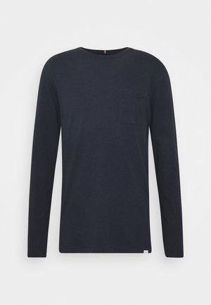BRENON  - Long sleeved top - dark navy